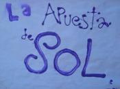 15 mayo 2011 Puerta del Sol en Madrid. Cartel.